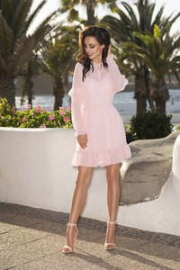 Różowa sukienka Lemoniade mini
