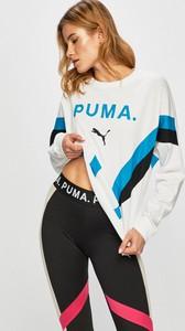 Bluza Puma w młodzieżowym stylu z nadrukiem z bawełny