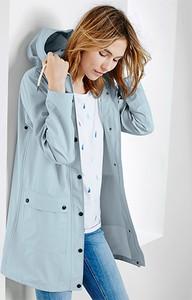 Niebieska kurtka Tchibo w stylu casual