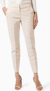 Spodnie comma, z żakardu