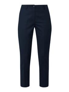 Granatowe spodnie Tommy Hilfiger w stylu klasycznym