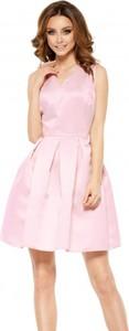 Różowa sukienka Lemoniade mini bez rękawów