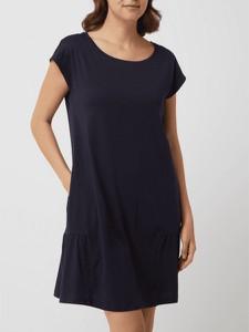 Sukienka Esprit z okrągłym dekoltem z krótkim rękawem z bawełny