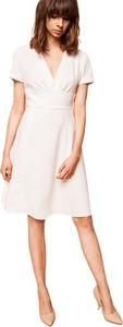 Sukienka ECHO z bawełny mini z krótkim rękawem
