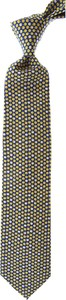 Zielony krawat Battistoni