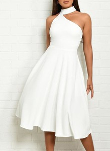 Sukienka Cikelly midi asymetryczna