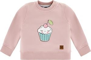 Różowa bluza dziecięca Mintini z tiulu