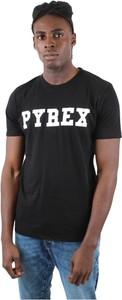 Czarny t-shirt Pyrex w młodzieżowym stylu