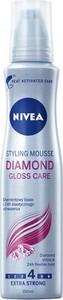 Nivea, Diamond Gloss Care, pianka do włosów, 150 ml