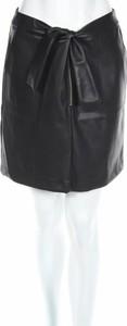 Czarna spódnica Sinéquanone mini w rockowym stylu
