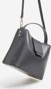 Czarna torebka Reserved na ramię matowa