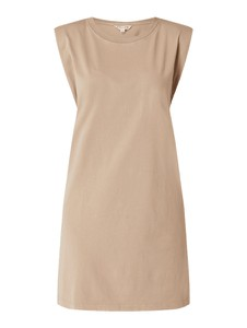 Sukienka Review bez rękawów z okrągłym dekoltem z bawełny