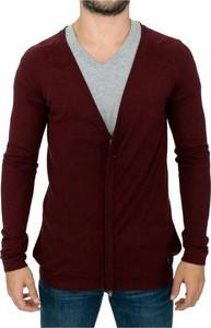 Czerwony sweter Costume National w stylu casual