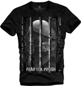 T-shirt Underworld w młodzieżowym stylu z krótkim rękawem z bawełny