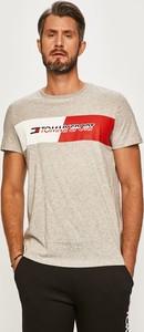 T-shirt Tommy Sport z dzianiny z krótkim rękawem