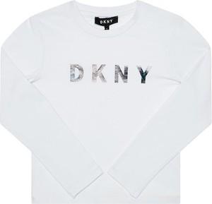 Bluzka dziecięca DKNY z długim rękawem