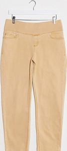 ASOS DESIGN Maternity – Farleigh – Pomarańczowe dopasowane mom jeans z wysokim stanem-Pomarańczowy
