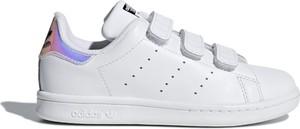Trampki dziecięce Adidas na rzepy z tkaniny
