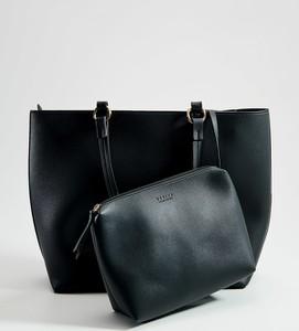 Czarna torebka Mohito w wakacyjnym stylu duża na ramię