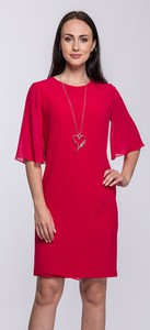 fab83dc537 amarantowa sukienka jakie dodatki. - stylowo i modnie z Allani