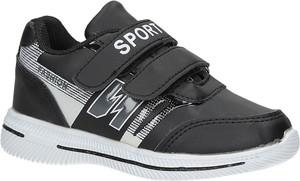 Czarne buty sportowe dziecięce Casu