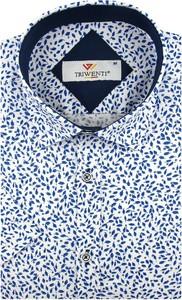 Koszula Triwenti z krótkim rękawem z tkaniny