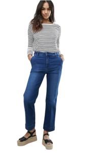 Niebieskie jeansy Tommy Hilfiger z bawełny w stylu casual
