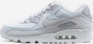 Buty sportowe Nike ze skóry air max 90 sznurowane