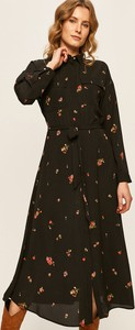 Sukienka Only z tkaniny z kołnierzykiem