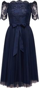 Granatowa sukienka Coast midi
