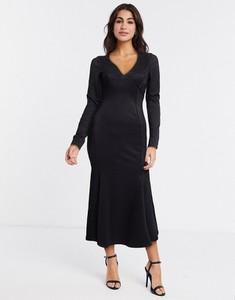 Czarna sukienka Asos bandażowa