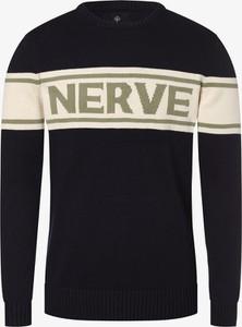 Czarny sweter Nerve z żakardu