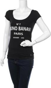 Czarna bluzka Bruno Banani z krótkim rękawem