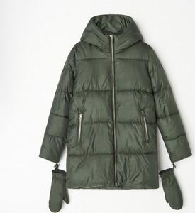 Zielona kurtka Mohito krótka