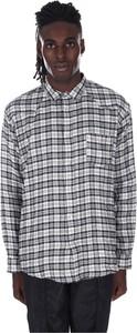 Koszula Paura w stylu casual z kołnierzykiem button down z długim rękawem