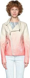 Różowa kurtka Desigual krótka