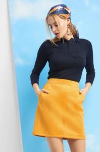 Żółta spódnica ORSAY mini