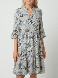 Sukienka Saint Tropez w stylu casual z długim rękawem z dekoltem w kształcie litery v