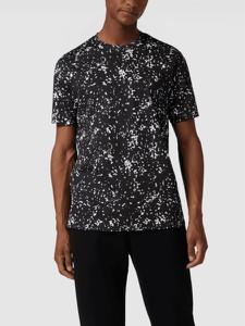 Czarny t-shirt Armani Exchange z bawełny w młodzieżowym stylu