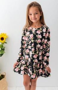 Sukienka dziewczęca Lily Grey w kwiatki