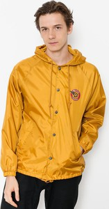 Żółta kurtka Brixton w stylu casual