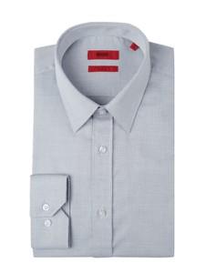 Koszula Hugo Boss z długim rękawem z bawełny