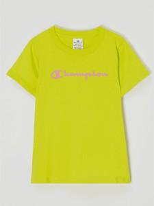 Bluzka dziecięca Champion z bawełny dla dziewczynek