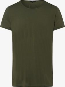Zielony t-shirt Tigha z krótkim rękawem
