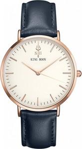 Granatowy zegarek king hoon