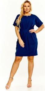 Sukienka Madam Tris z krótkim rękawem