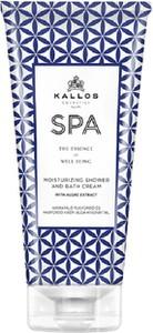 Kallos, Spa Moisturizing Shower And Bath Cream, żel i płyn do kąpieli z algami, 200 ml