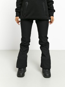 Czarne spodnie sportowe Volcom z plaru