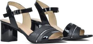 Czarne sandały Gamis