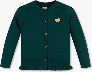 Zielony sweter Palomino z bawełny